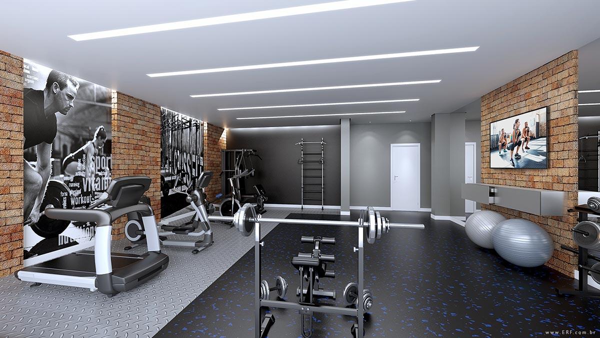 Espaço Fitness - Ed. Le Havre