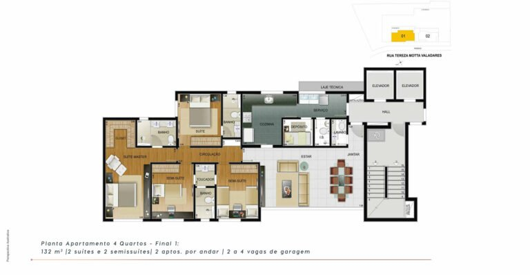 planta2-the-one-residence-carrosel