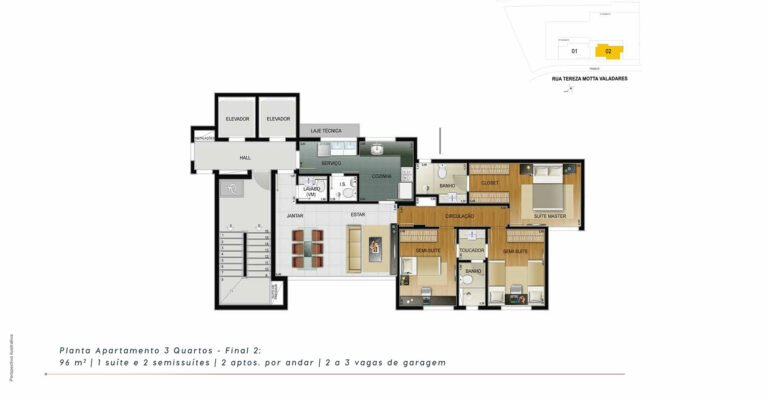 planta3-the-one-residence-carrosel