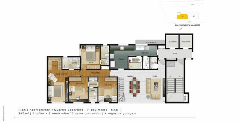 planta4-the-one-residence-carrosel